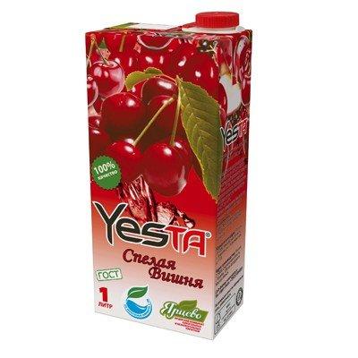 Напиток Yesta Спелая вишня 1л