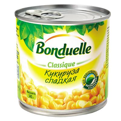 Кукуруза Бондюэль ж/б 340гр