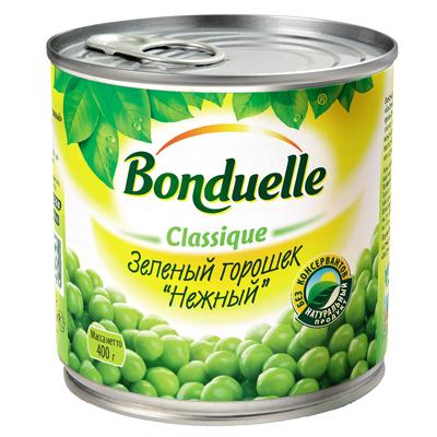 Горошек Бондюэль зеленый ж/б 400гр