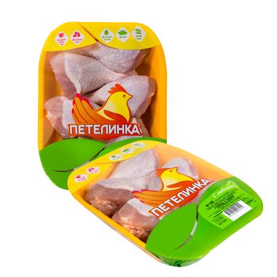 Голень с кожей «Петелинка» охлажденная на подложке 1 кг