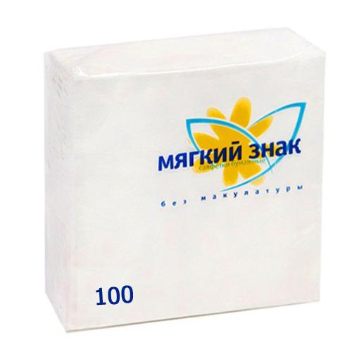 Салфетки Мягкий знак 100 шт