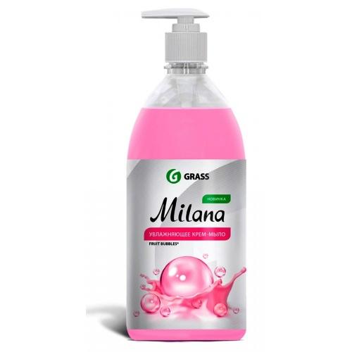 GRASS  Жидкое крем-мыло Milana  1л   -Fruit Bubbles