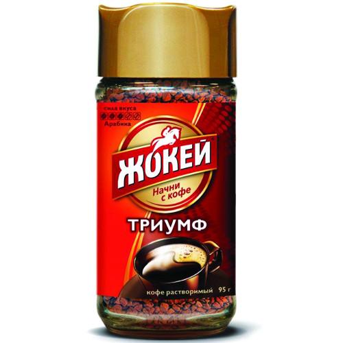 Кофе Жокей Триумф субл.раст.95 гр. Ст/б