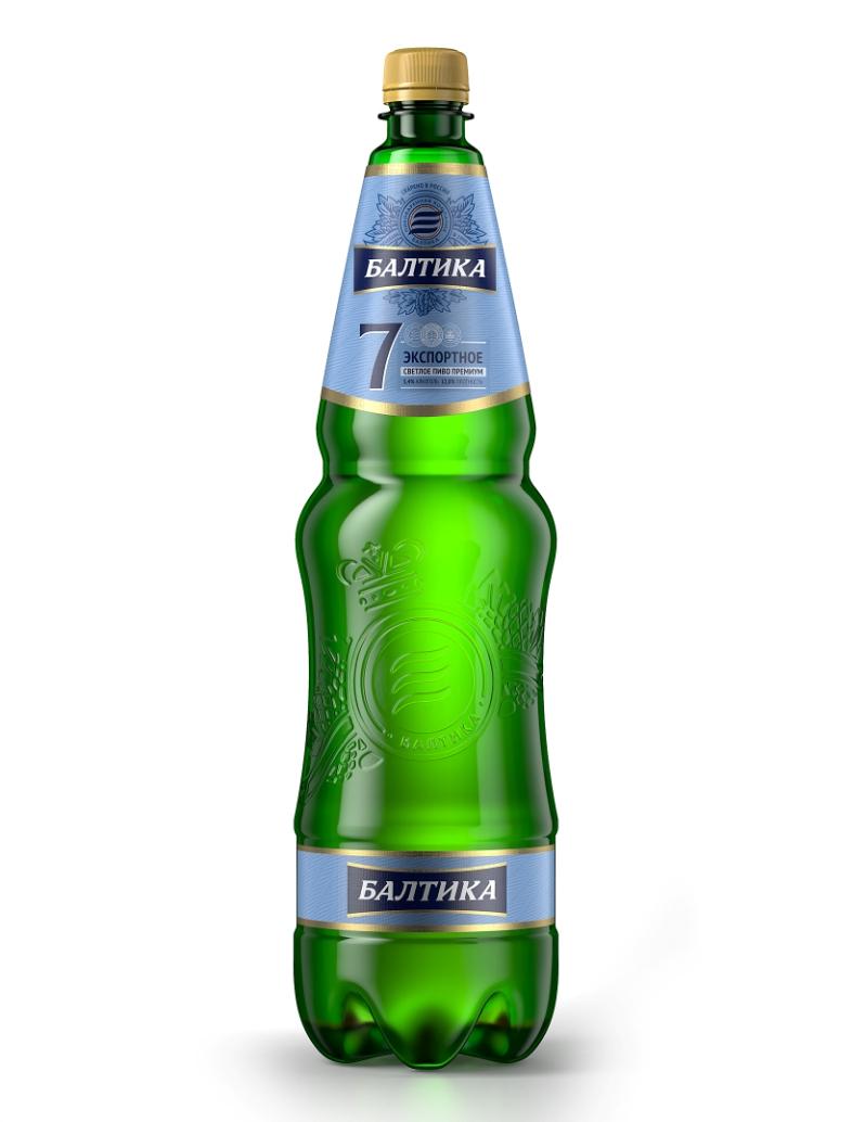 Пиво «Балтика» 7 премиум 1,35л