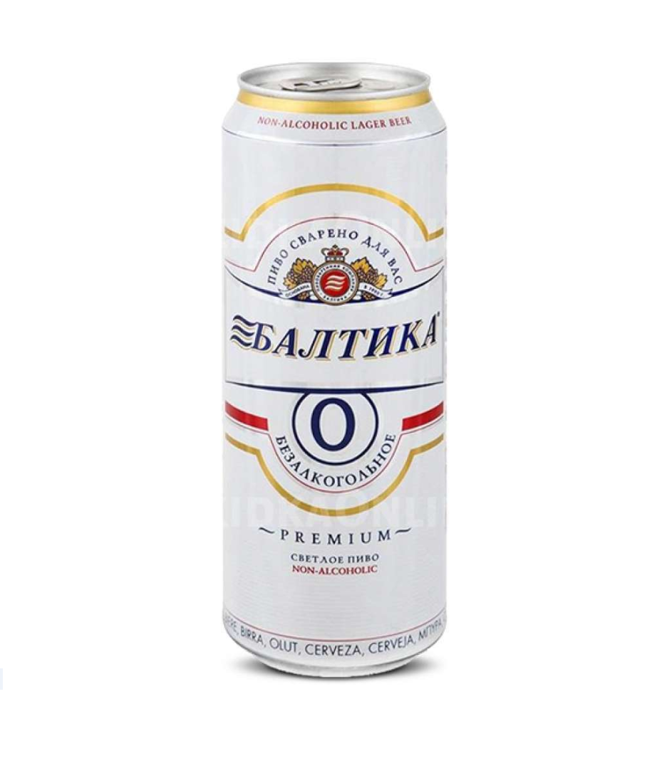 Пиво «Балтика» №0  0.45л ж/б