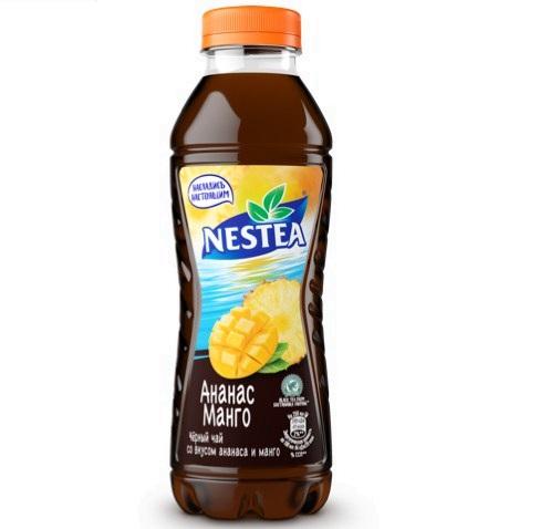 Напиток холодный чай Нести 1,5л пл/б   — Манго/Ананас