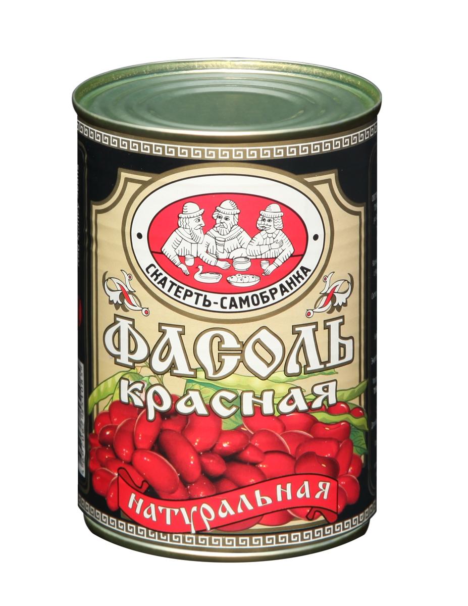 Фасоль Скатерть-Самобранка красная 425 мл. ж/б