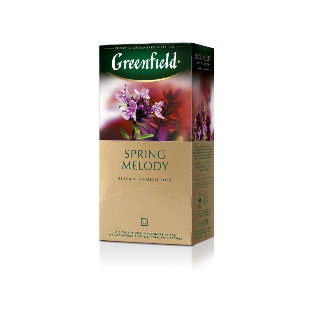 Чай Гринфилд Спринг Мелоди (2*25) пак. Черн.
