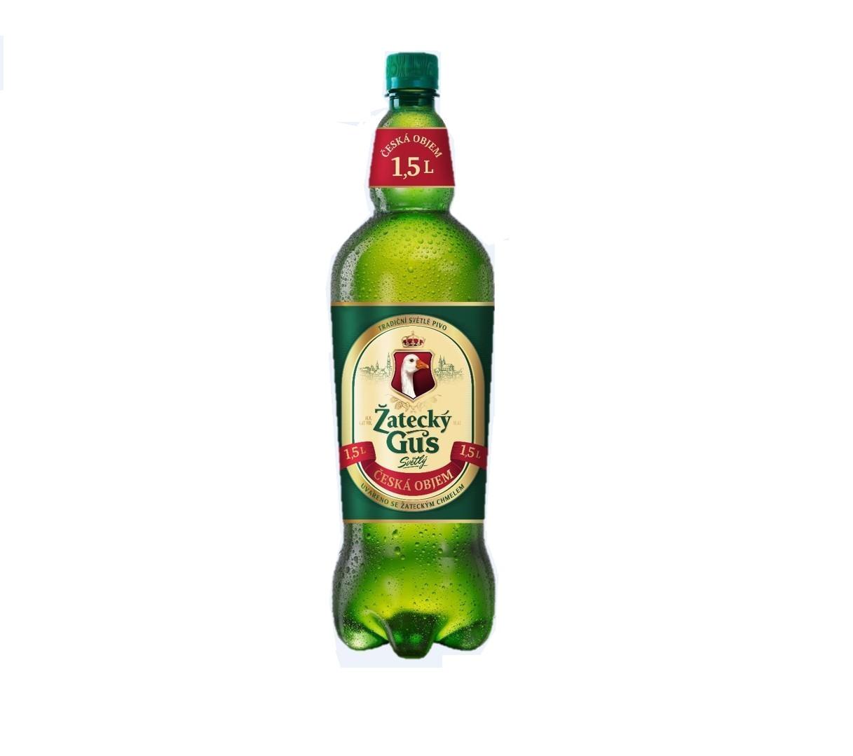 Пиво «Жатецкий гусь» 1,5 пл/б
