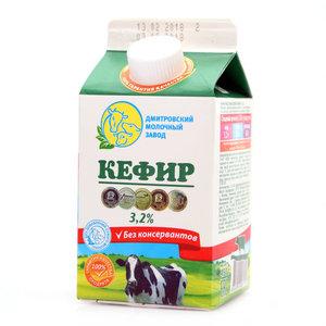 Кефир 3,2% 450 гр ДМЗ