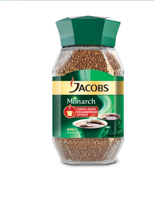 Кофе «Якобс Монарх»  раств. 95гр