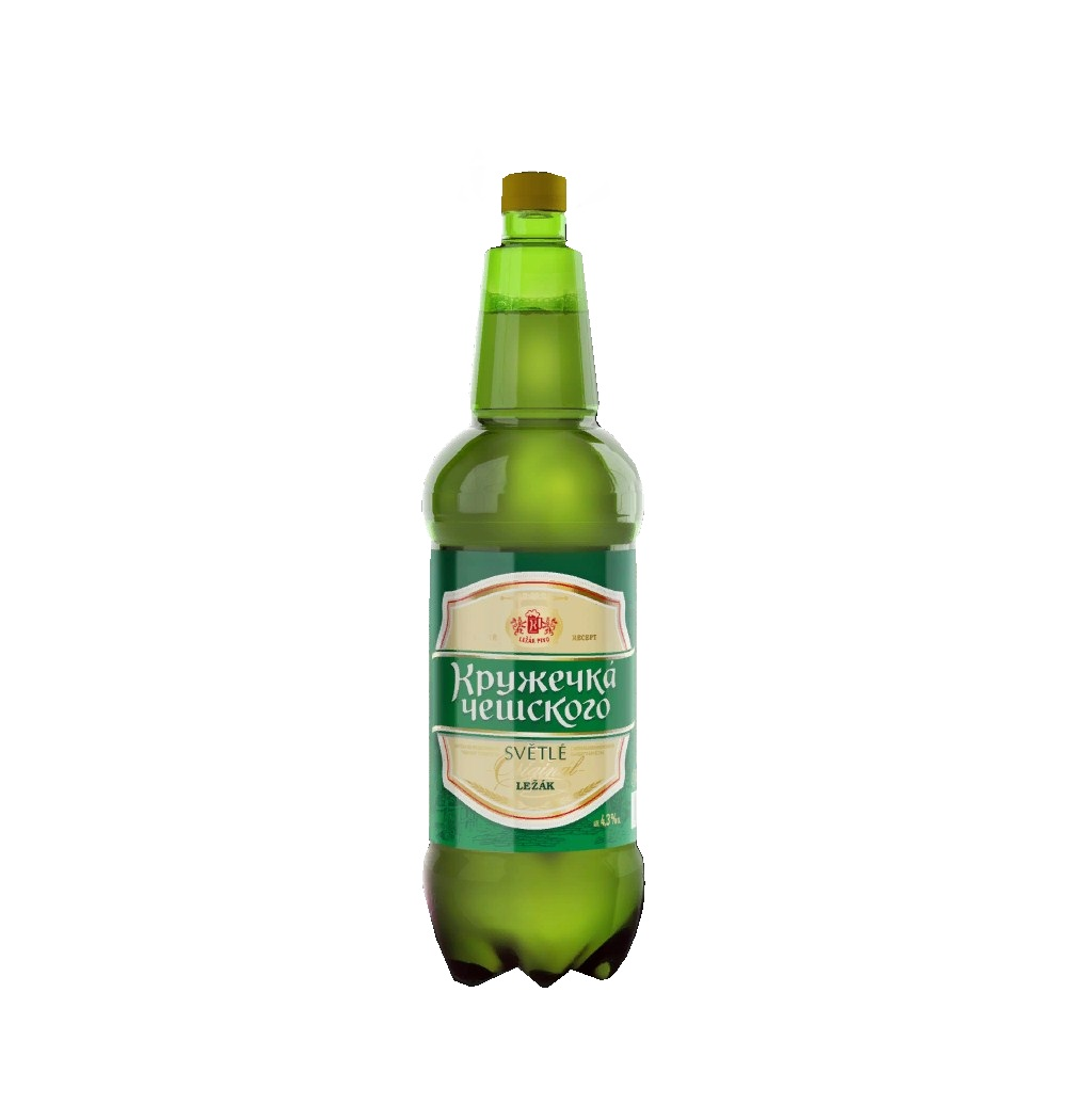 Пиво «Кружечка Чешского» 1,35л.