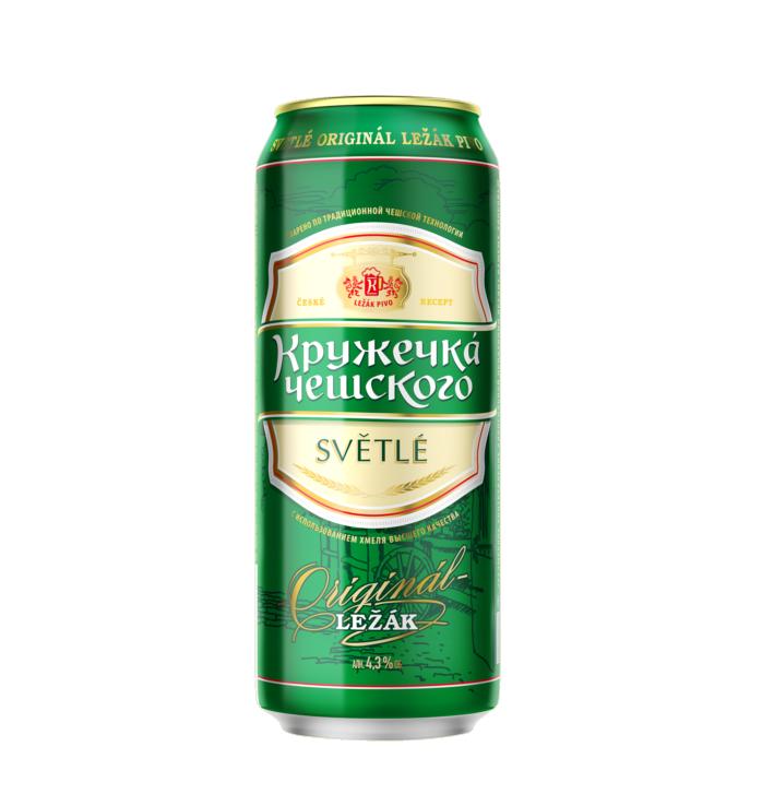Пиво «Кружечка Чешского» 0,45 ж/б