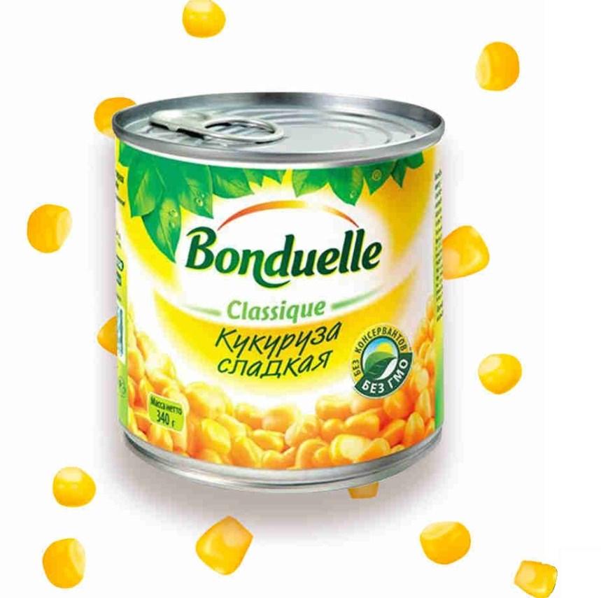 Кукуруза «Бондюэль «слад. 340г ж/б ключ