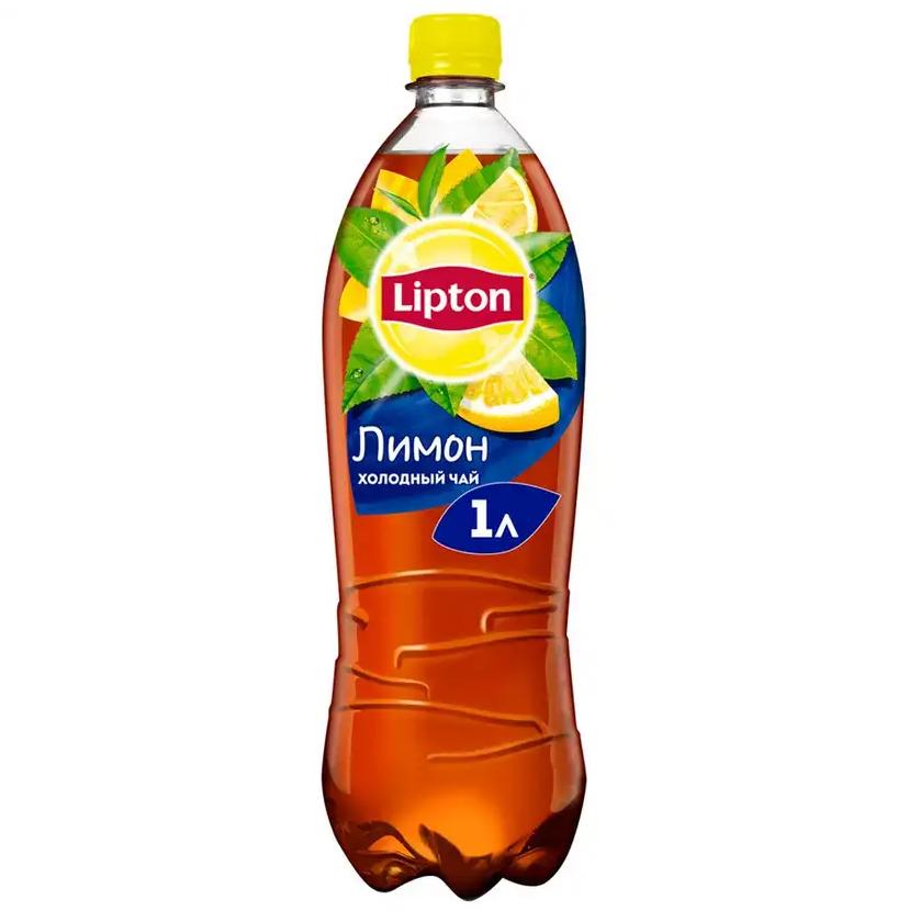 Напиток холодный чай «Липтон» 1л пл/б  — Лимон