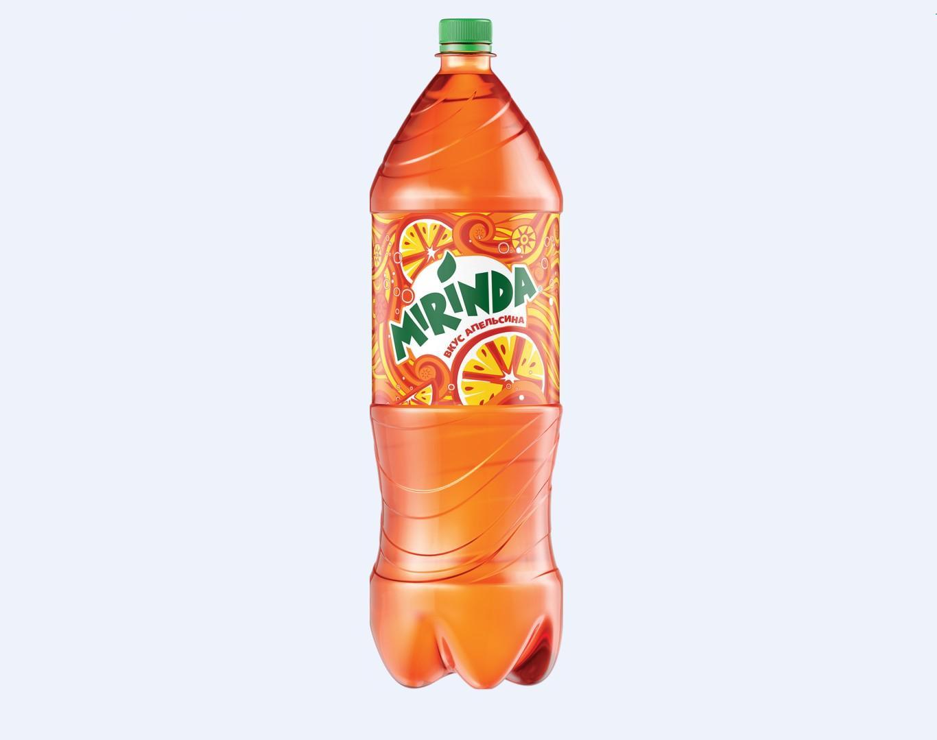 Вода Миринда, апельсин 2л. пл/б