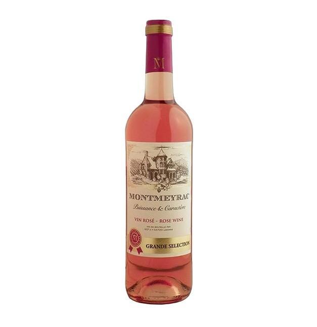 Вино столовое  «Монмейрак» 0,75л.  -роз/сух
