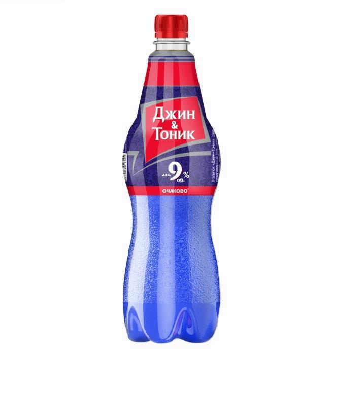 Напиток «Джин-Тоник» слабоалкогольный газированный, ПЭТ 1л