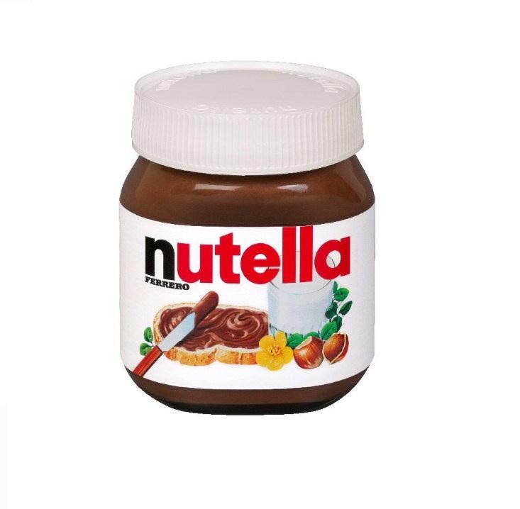 Паста «Nutella» шоколадная 350г ст/б