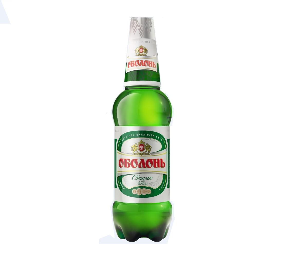 Пиво  «Оболонь» Пл/б 0,9 л.