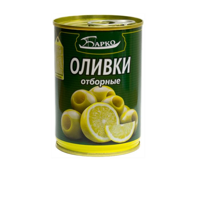 Оливки «Барко» Отборные б/к 300мл ж/б