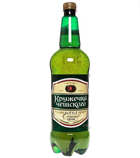 Пиво «КРУЖЕЧКА ЧЕШСКОГО» 1,30 л.