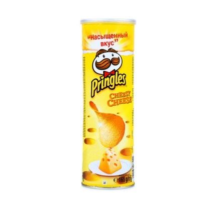 Чипсы «Принглз» 165г   — Сыр