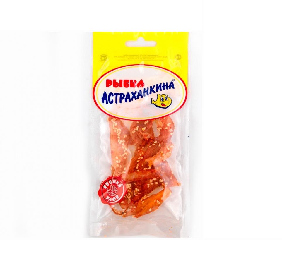 Кальмар Астраханкина рваный суш. 40г