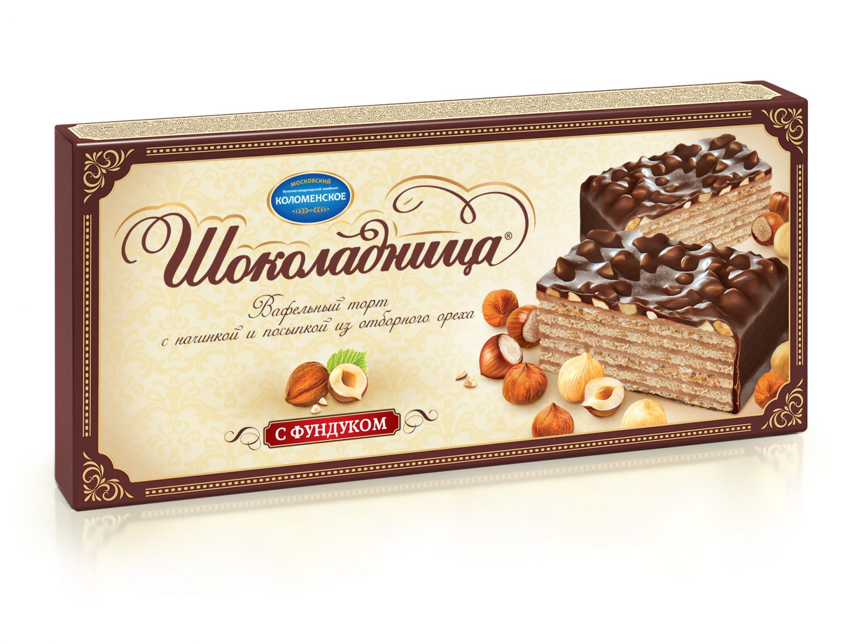 Торт «Коломенское» Шоколадница 240г Классический