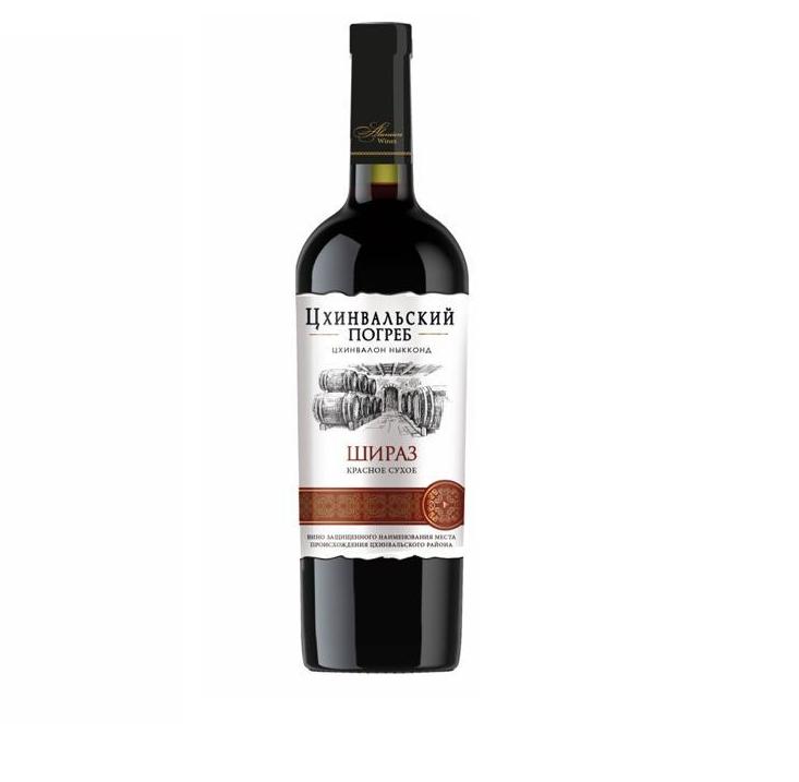 Вино «Шираз» кр/сух 0,75л