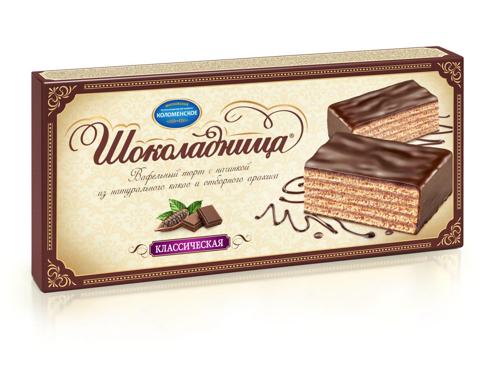 Торт Шоколадница 240 г. Классический