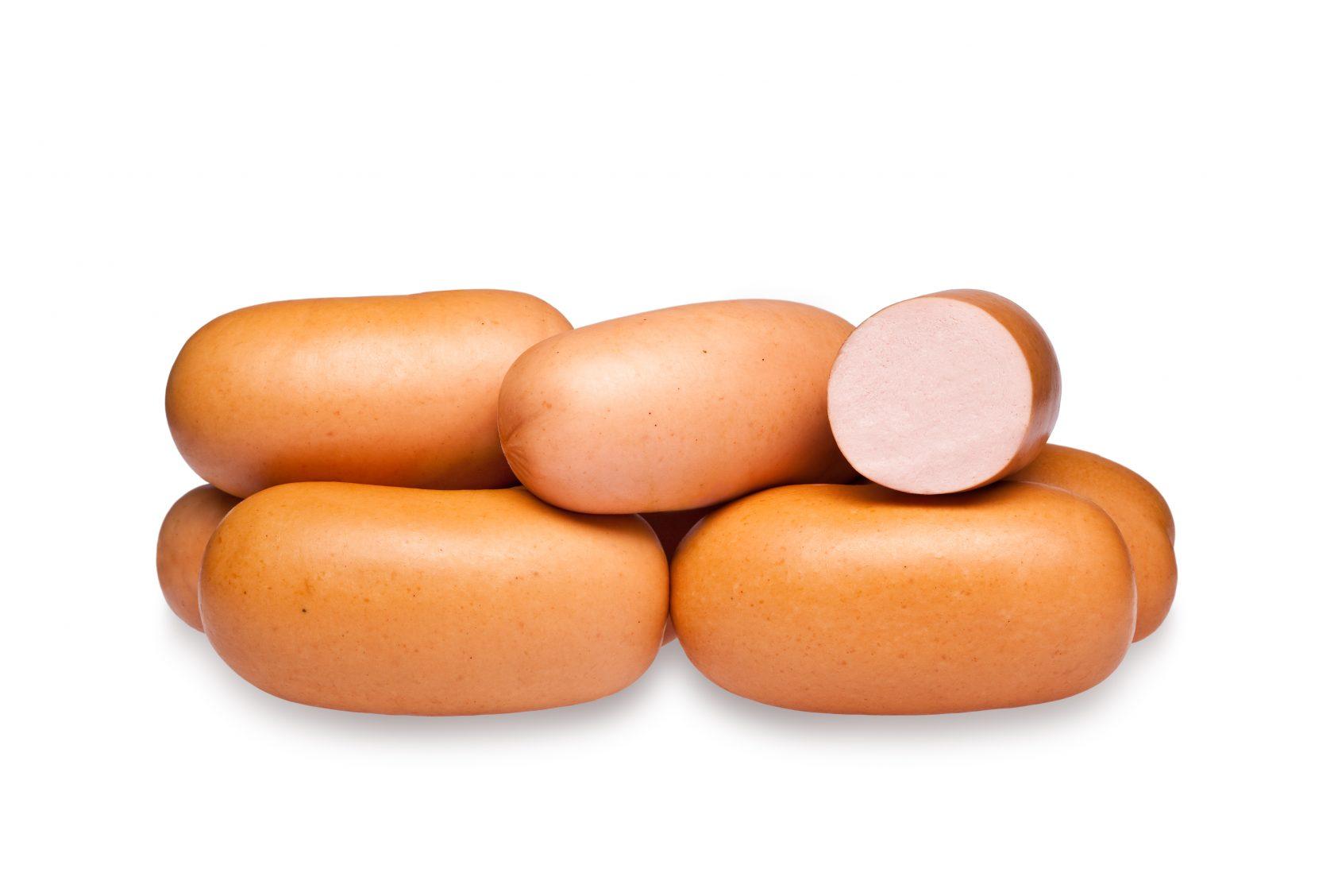 Сардельки свиные «Окраина» н/о 1 кг