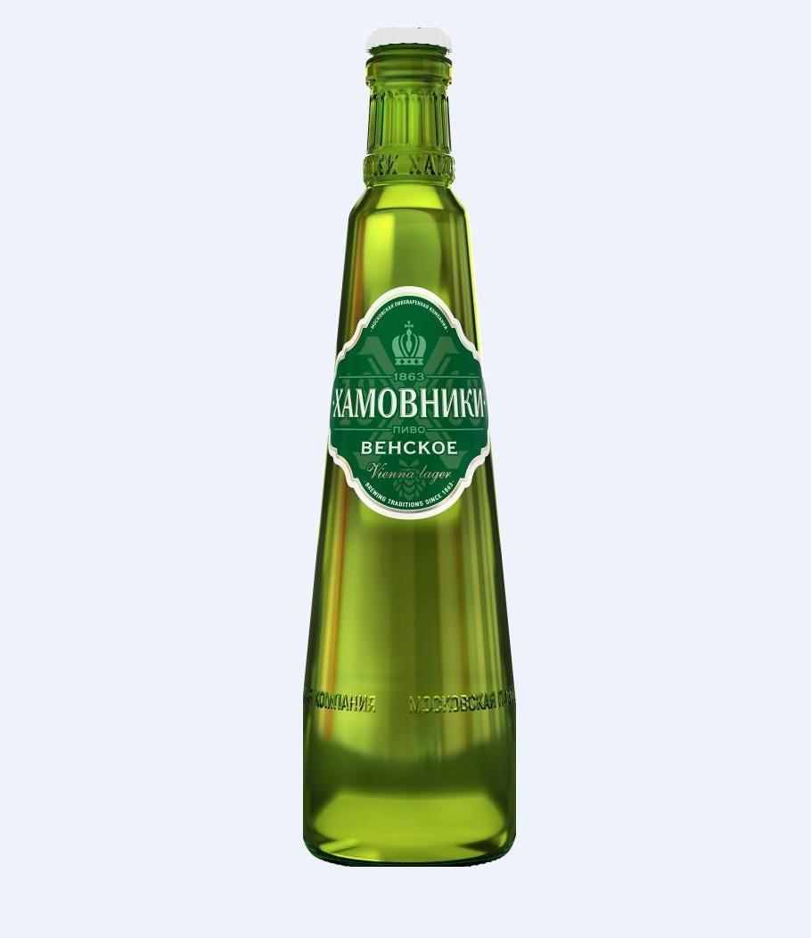 Пиво «Хамовники» Венское 0.47л ст/б