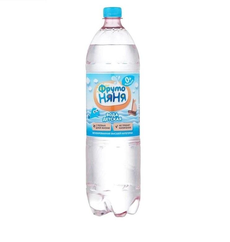 Вода «Фруто няня» б/г 1,5л пл/б
