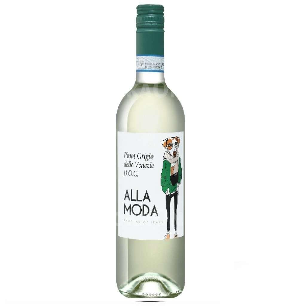 Вино Алла Мода Пино Гриджио делле Венеция бел.сух 0,75л.