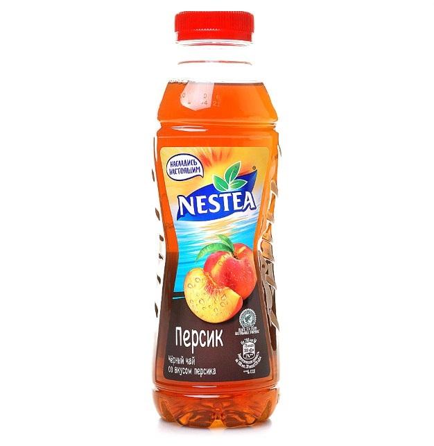 Напиток холодный чай Нести 1,5л пл/б  — Персик