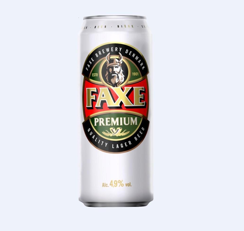 Пиво «FAXE» премиум 0.45л ж/б