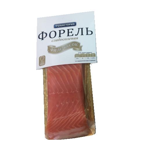 Форель с/с филе кусок в/у  300гр  Рыбастория