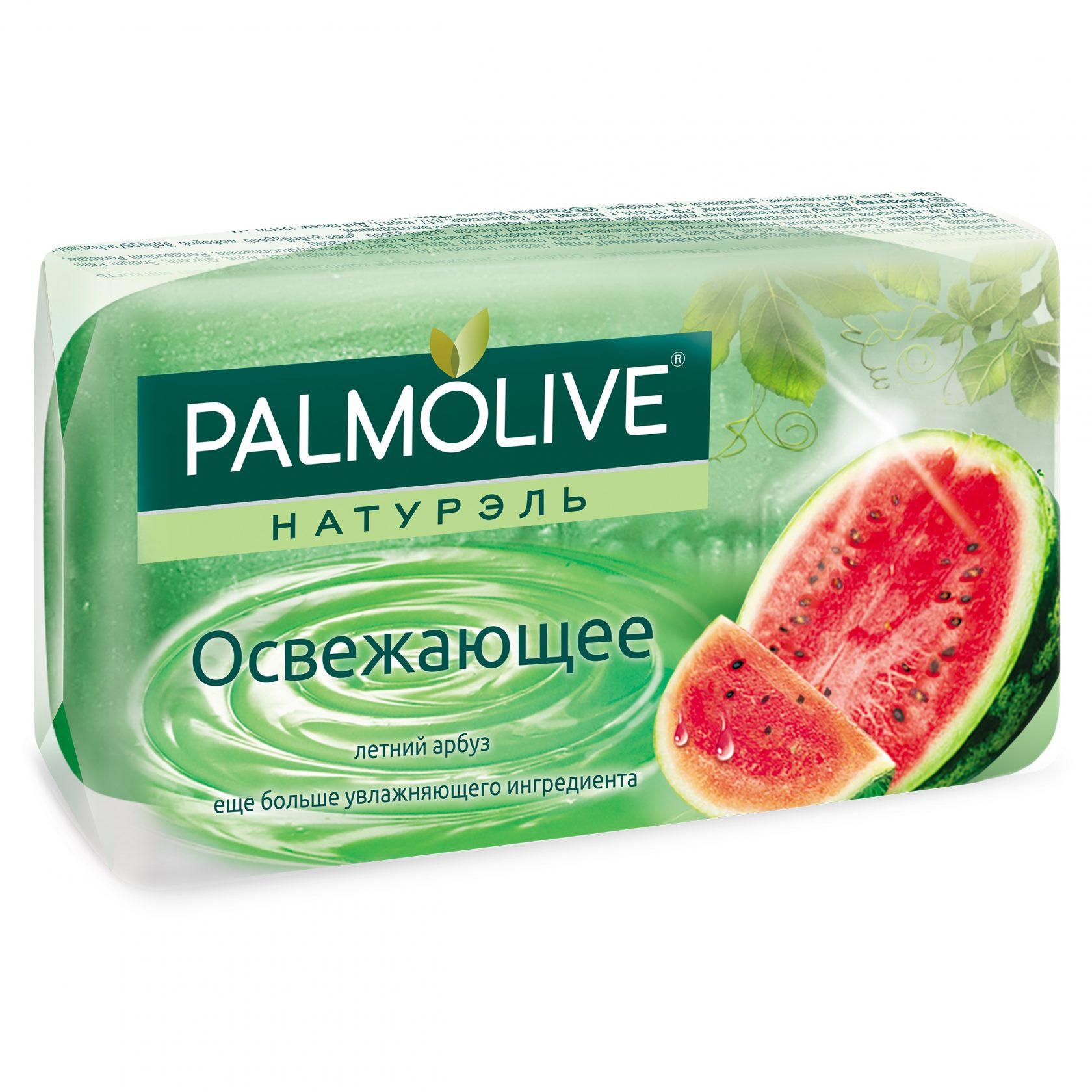 Palmolive мыло освежающее  с глицерином (арбуз) 90гр.