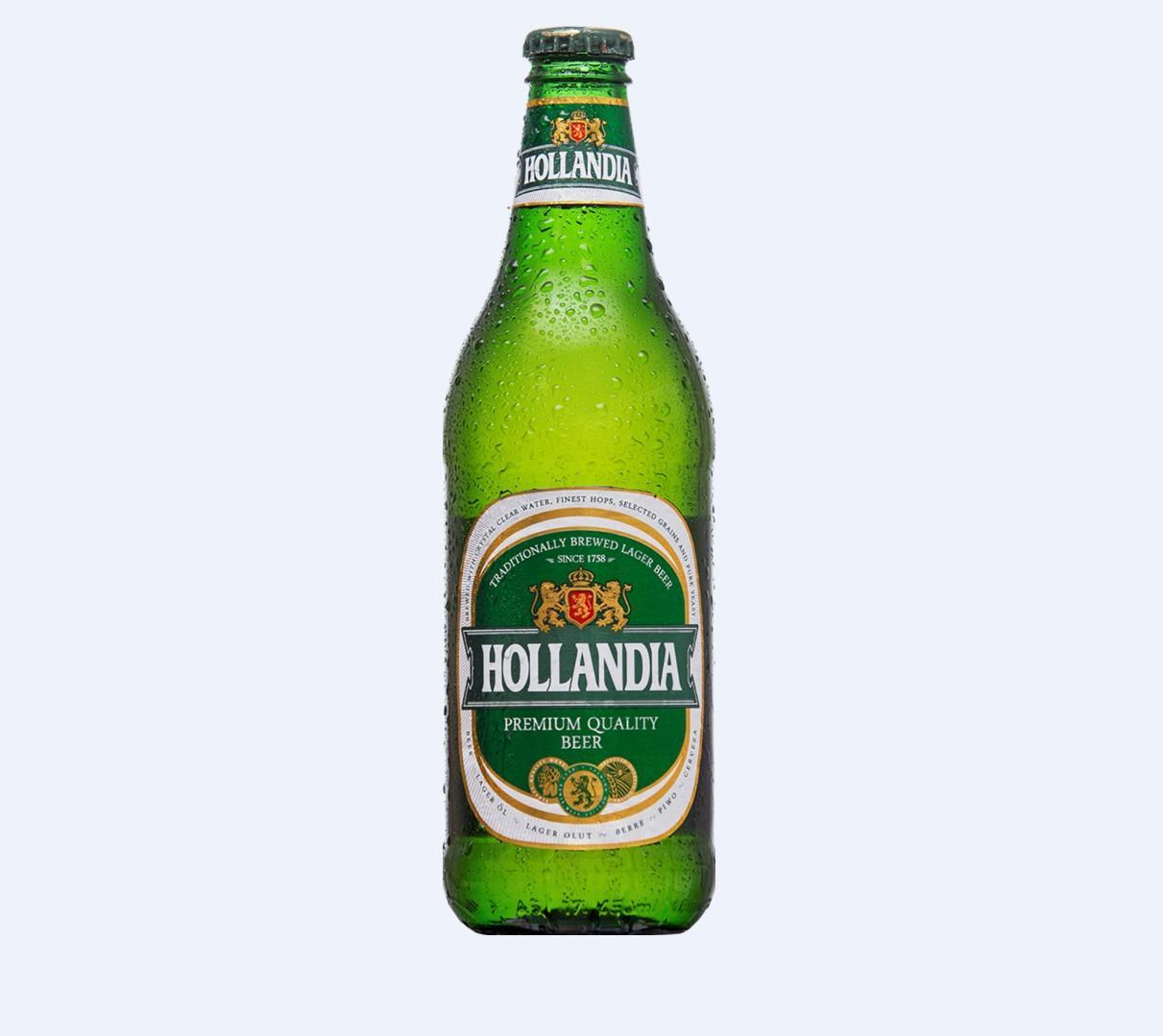 Пиво HOLLANDIA 0.45л ст/б