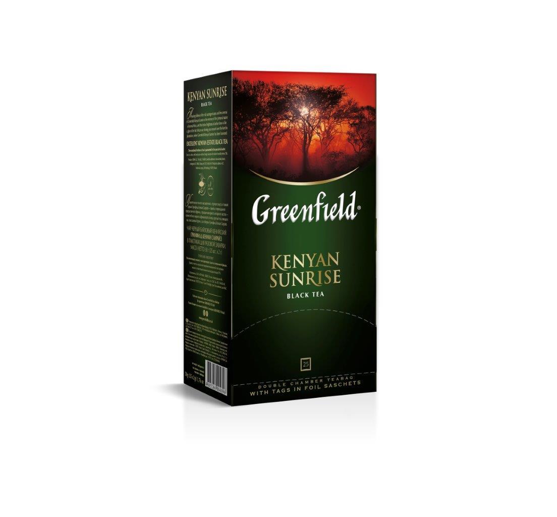 Чай Гринфилд (2*25)пак чер. — Кения Санрайз