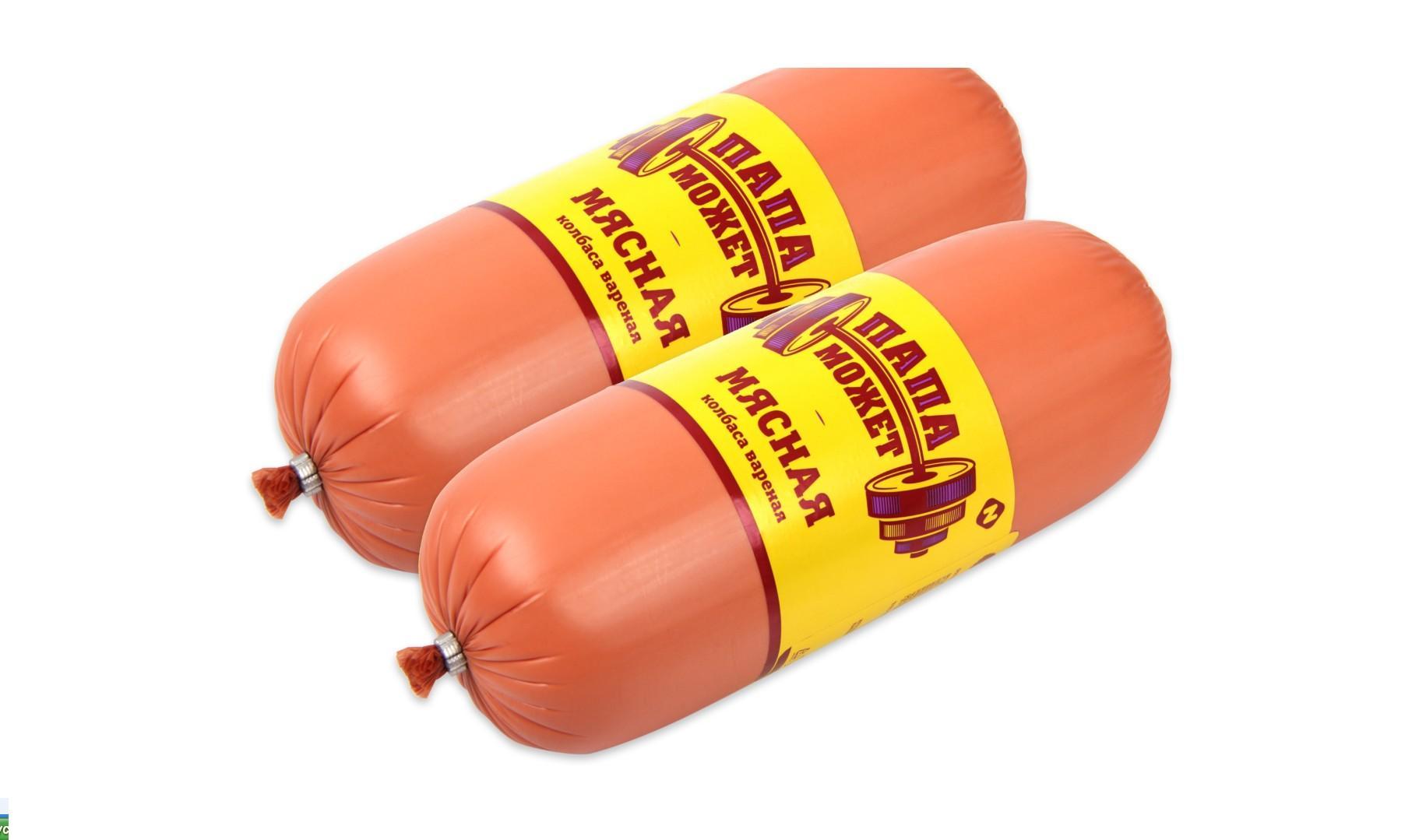 Колбаса Мясная  «папа может» 0,5 кг