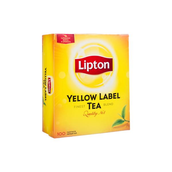 Чай Липтон 2г*100 пак.