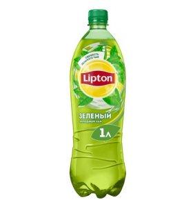 Напиток холодный чай «Липтон» 1л пл/б -Зеленый
