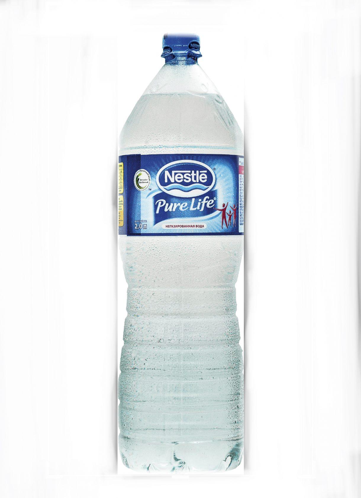 Вода  «Nestle pure life» 2л пл/б