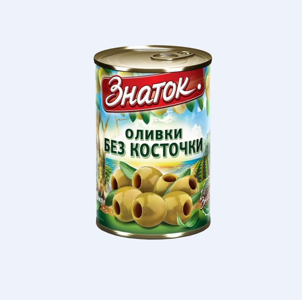 Оливки «Знаток»  б/к 280г ж/б