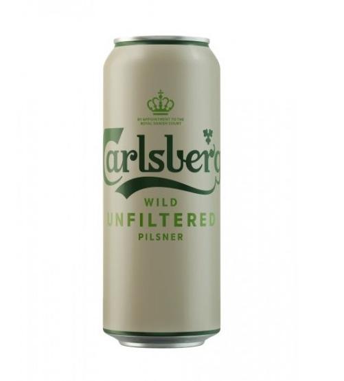 Пиво «Карлсберг Вайлд» светлое н/ф 4,5% 0,45л ж/б
