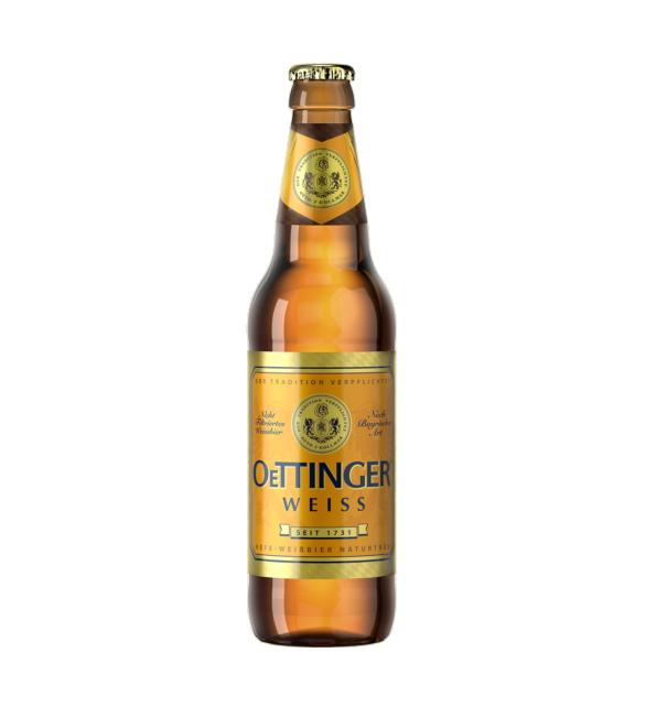 Пиво «oettinger Weiss» 0,45 ж/б
