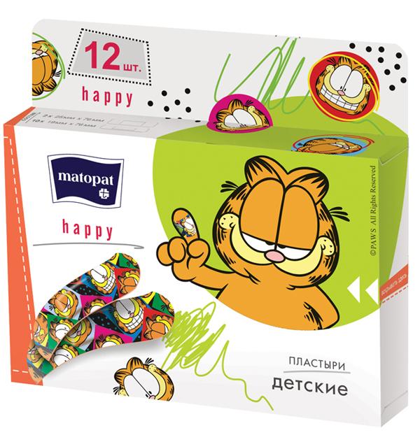 BELLA МАТОРАТ Пластырь HAPPY  12 шт
