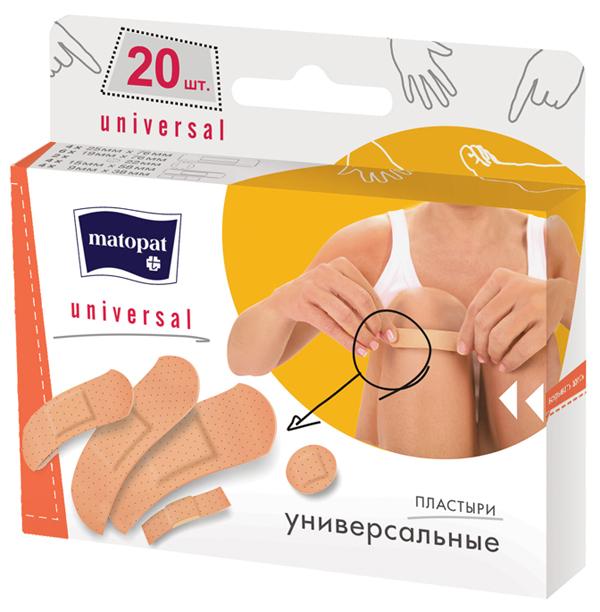 BELLA МАТОРАТ Пластырь UNIVERSAL  20 шт.